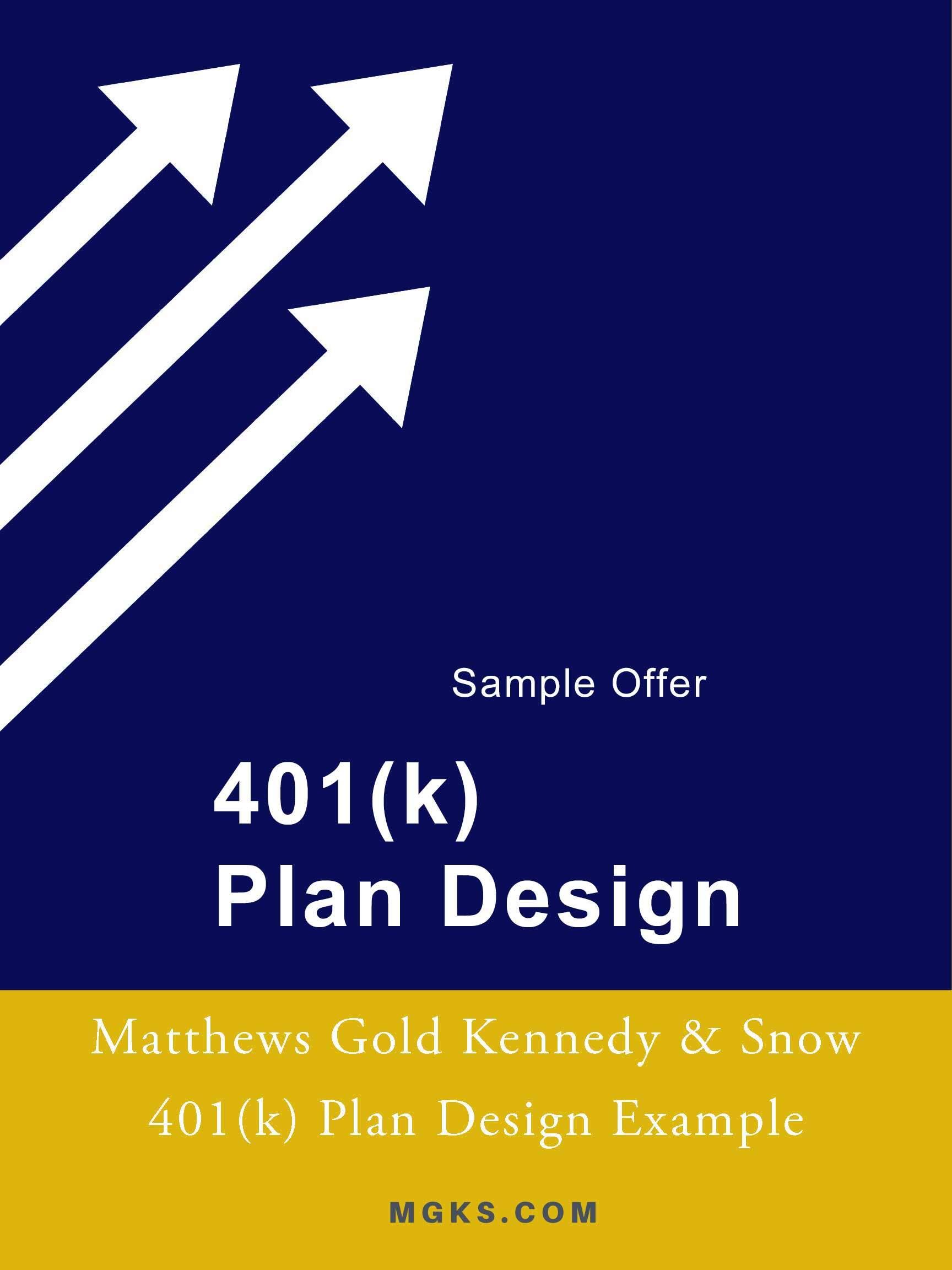 401(k) Sample E-book Offer